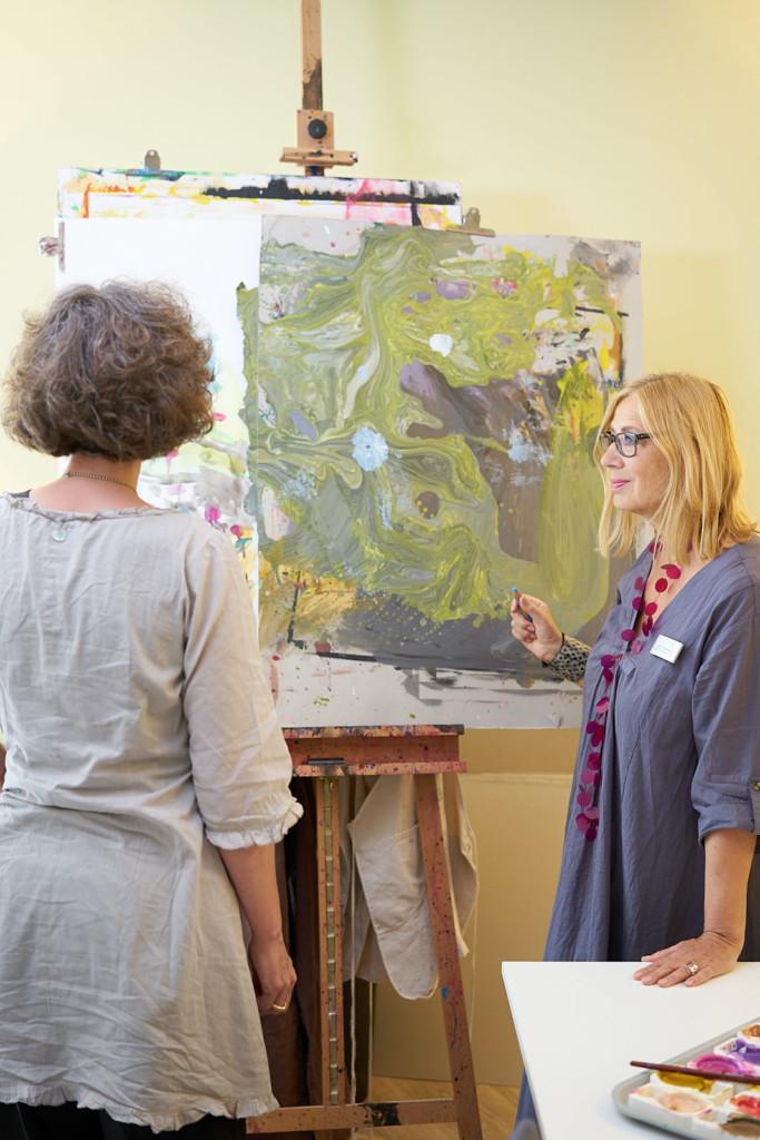 Kunst- und Gestaltungstherapeutinnen